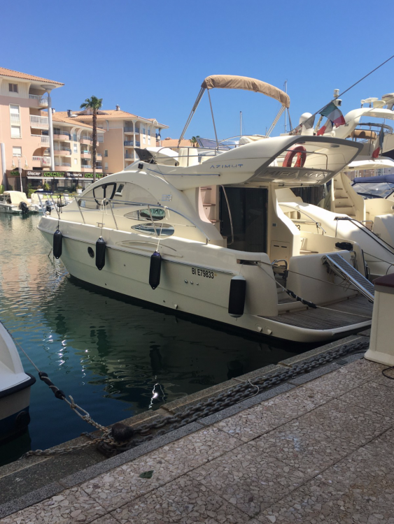 Location yacht à Fréjus - Azimut Azimut 39 E Fly sur SamBoat