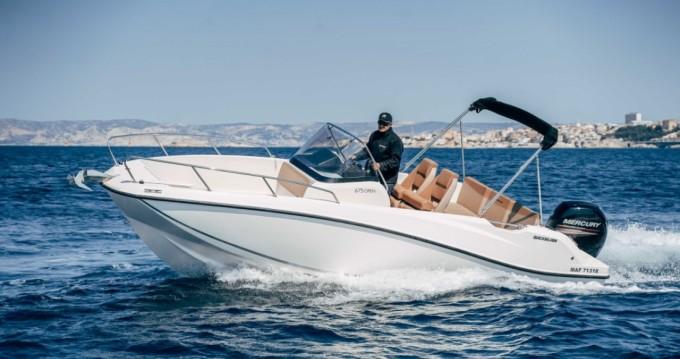 Location bateau Quicksilver Activ 675 Open à Vieux-Port de Marseille sur Samboat