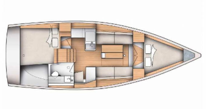 Location Voilier à Hyères - Dufour Yachts 350