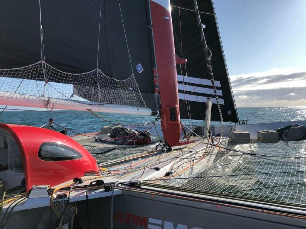Trimaran Prototype course entre particuliers et professionnel à Sète