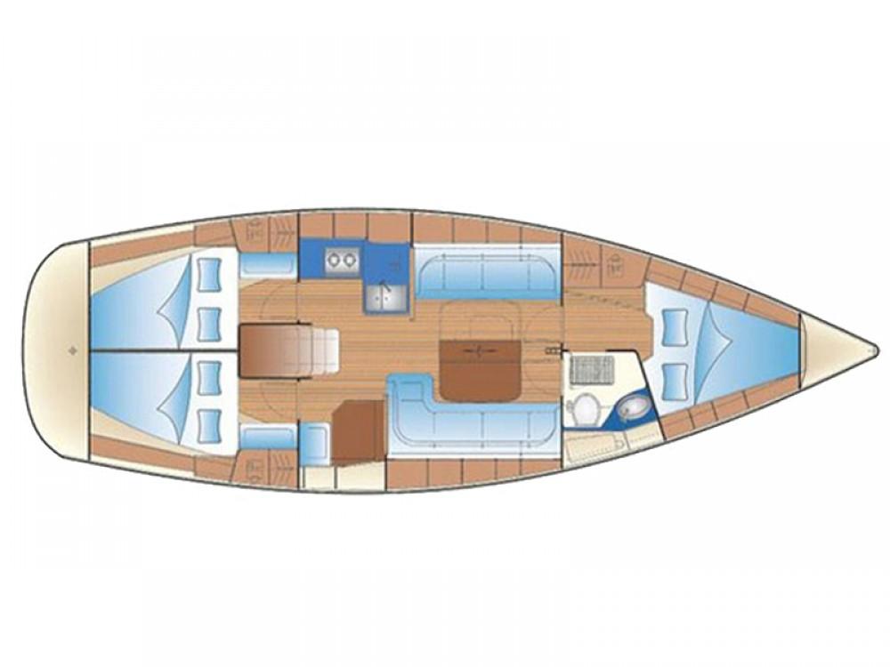 Location yacht à Leucade - Bavaria Bavaria 37 Cruiser sur SamBoat