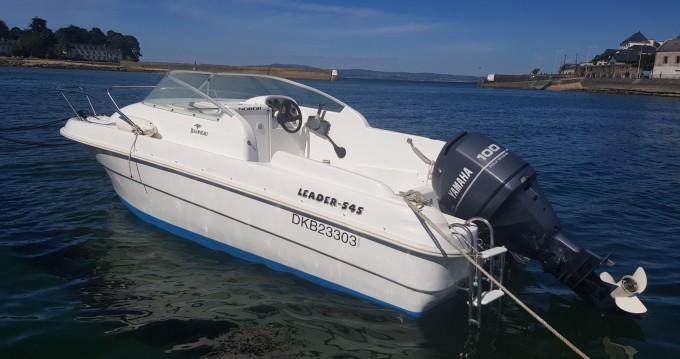 Location bateau Douarnenez pas cher Leader 545
