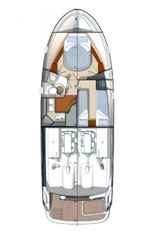 Louer Bateau à moteur avec ou sans skipper Carnevali-Shipyard à Seget Donji