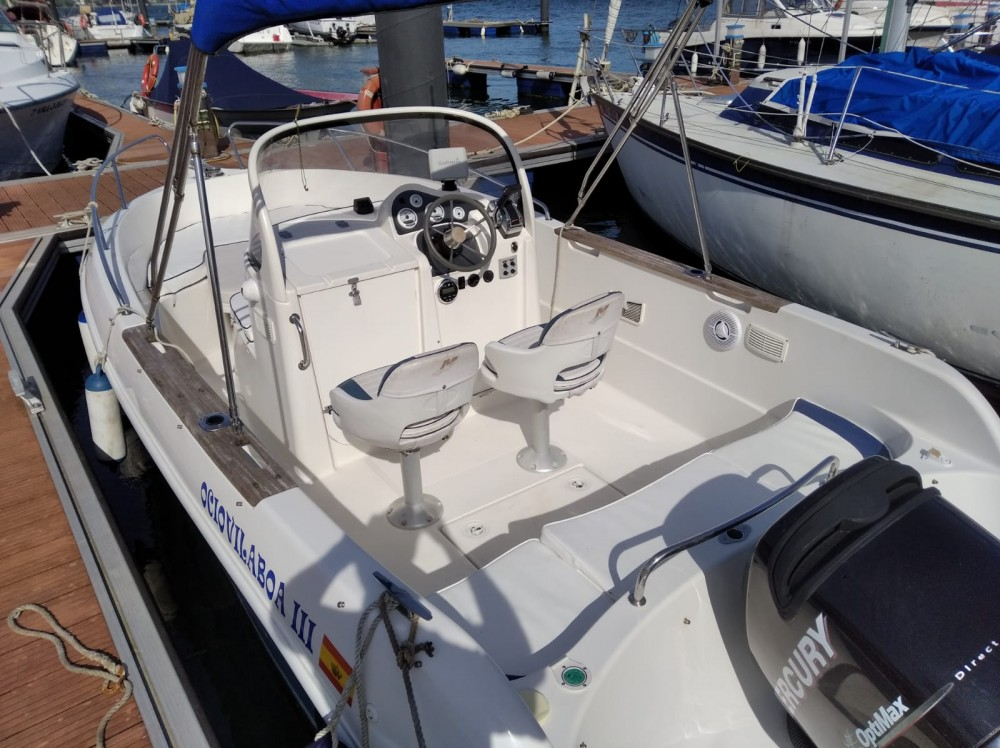 Location yacht à Vilaboa - Quicksilver Quicksilver 630 Open sur SamBoat