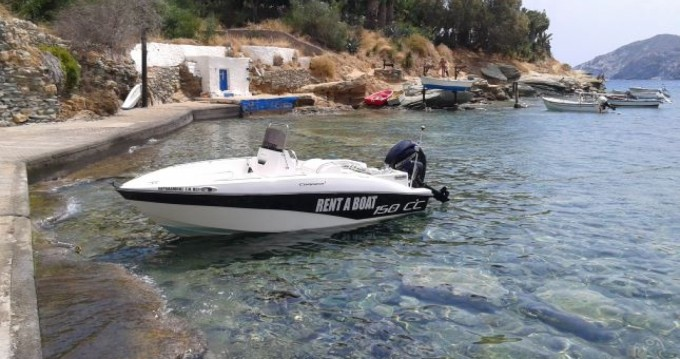 Louer Bateau à moteur avec ou sans skipper Compass à Agía Pelagía