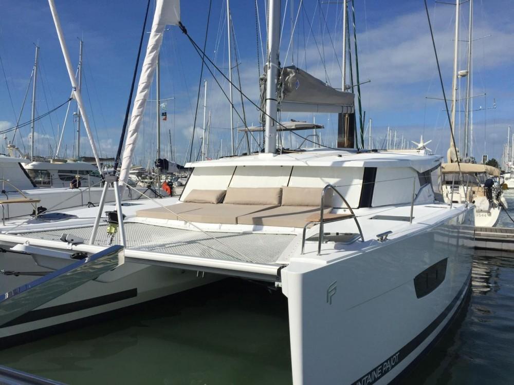 Location yacht à Ibiza Magna - Fountaine Pajot Lucia 40 sur SamBoat