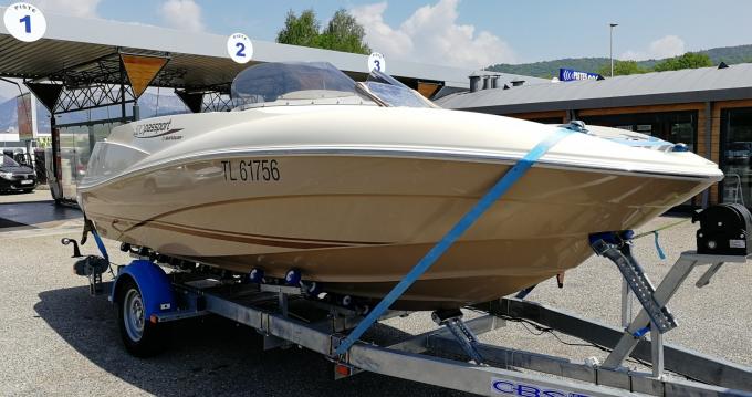 Location bateau Quicksilver Quicksilver 520 Passport à Annecy sur Samboat
