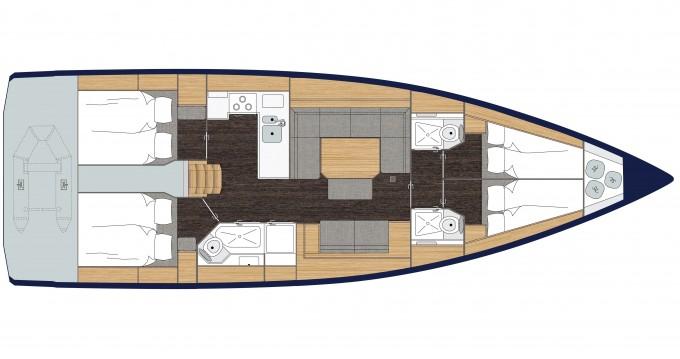 Location yacht à Gouviá - Bavaria Bavaria C45 sur SamBoat