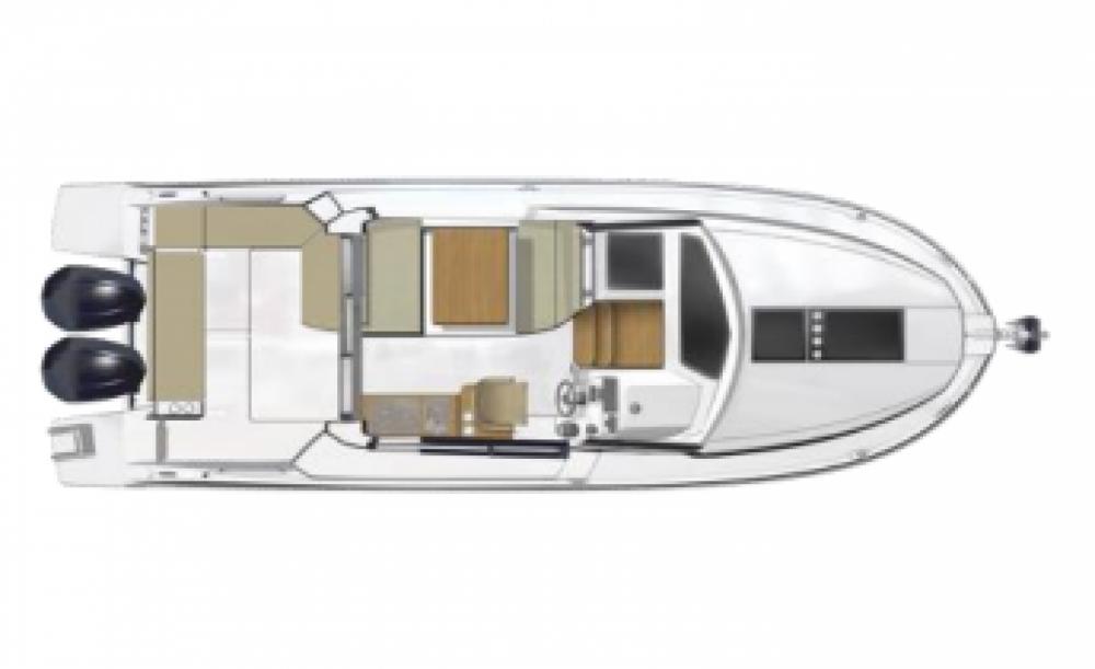 Location yacht à Ajaccio - Bénéteau Antares 9 OB sur SamBoat