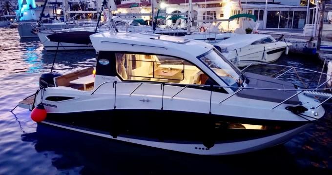 Location bateau Sitges pas cher Quicksilver 755 Week-End