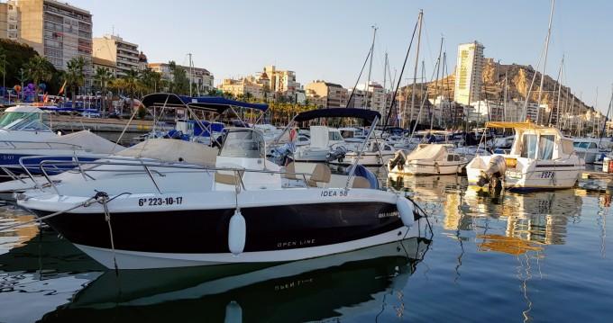Louer Bateau à moteur avec ou sans skipper Idea Marine à Alicante