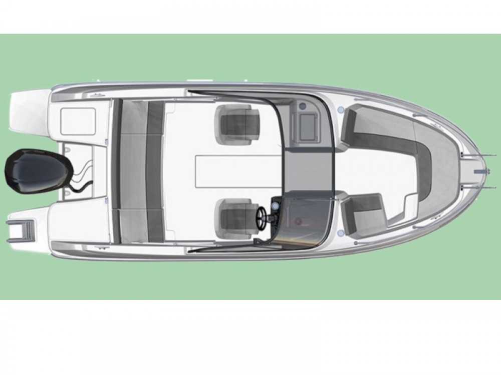 Location yacht à Îles Baléares - Jeanneau Cap Camarat 6.5 BR sur SamBoat