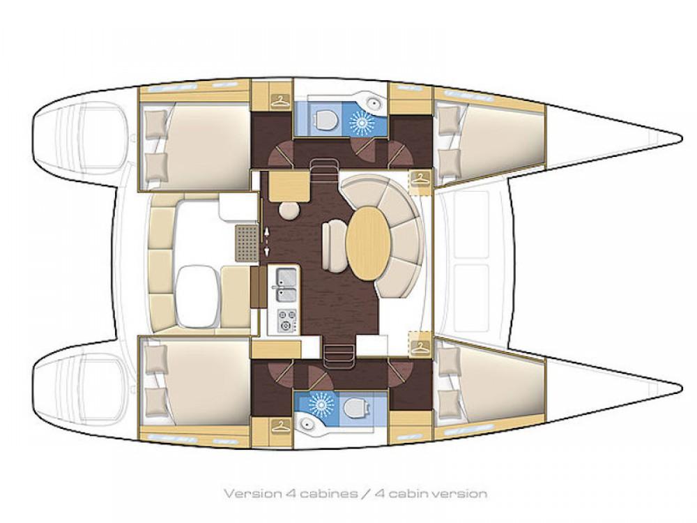 Location yacht à Kiel - Lagoon Lagoon 380 sur SamBoat