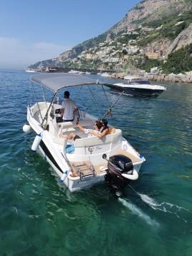 Location bateau Amalfi pas cher Elena 650 Open