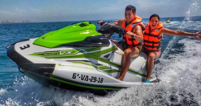 Louer Jet Ski avec ou sans skipper Yamaha à La Pobla de Farnals