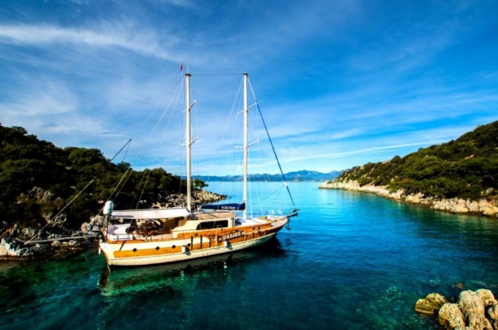 Location Yacht Gulet avec permis