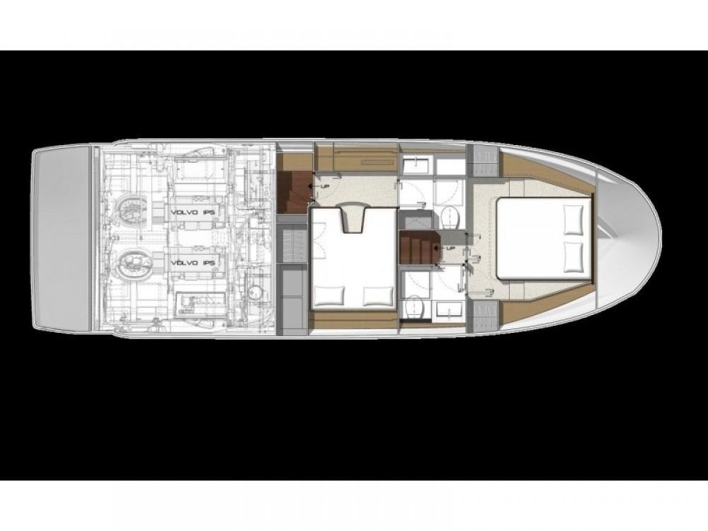 Location bateau Cannigione pas cher Prestige 420 Fly