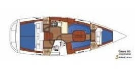 Location yacht à Skiathos - Bénéteau Oceanis 343 sur SamBoat