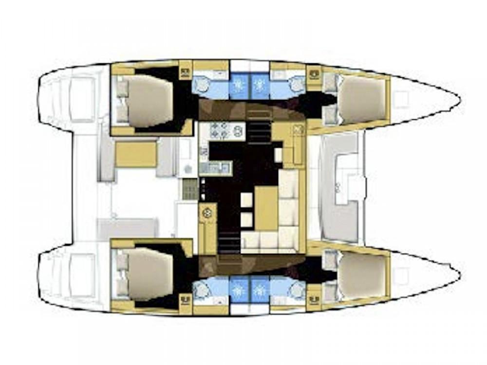 Location Catamaran à Seget Donji - Lagoon Lagoon 450 Fly