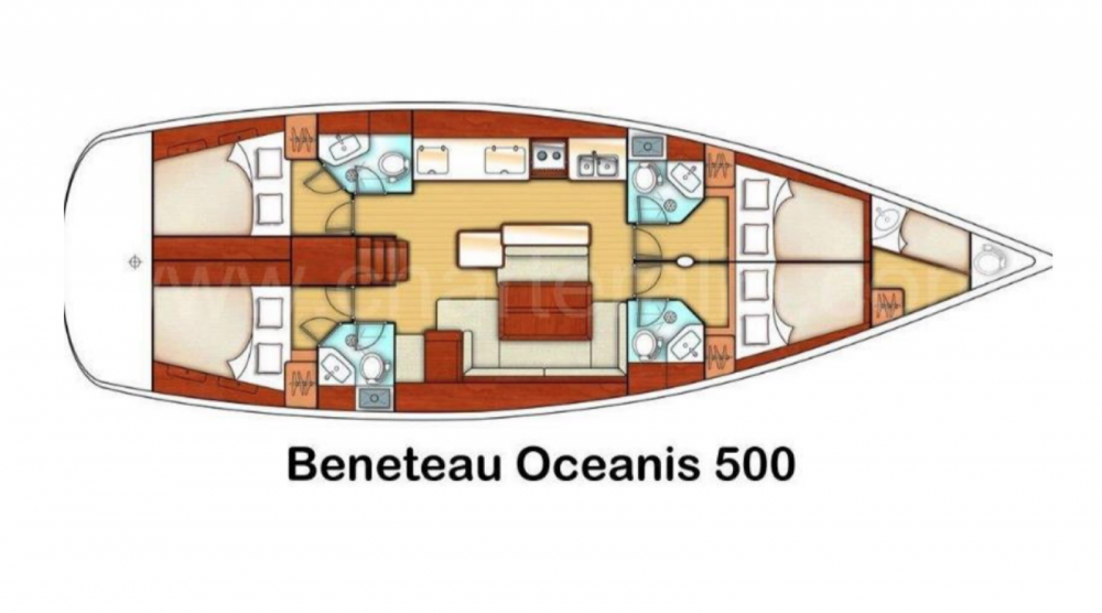 Location Voilier à Ibiza - Bénéteau OCEANIS 500