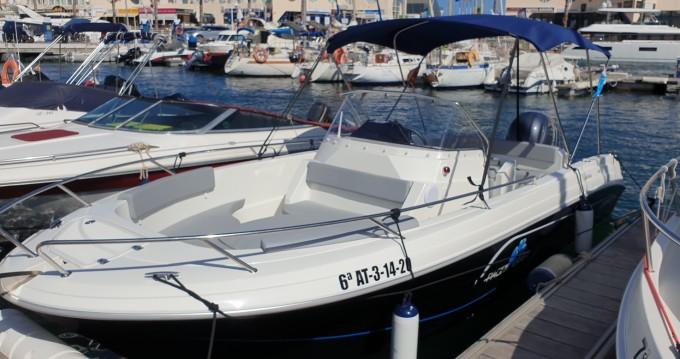 Location bateau Alicante pas cher Pacific Craft 670 Open