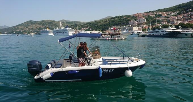 Location bateau PRIMUS MARINE FISHER 20 FISHER 20 à Dubrovnik sur Samboat