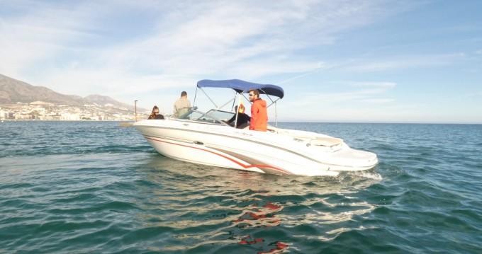 Location bateau Puerto Deportivo de Marbella pas cher Sea Ray 210 Select