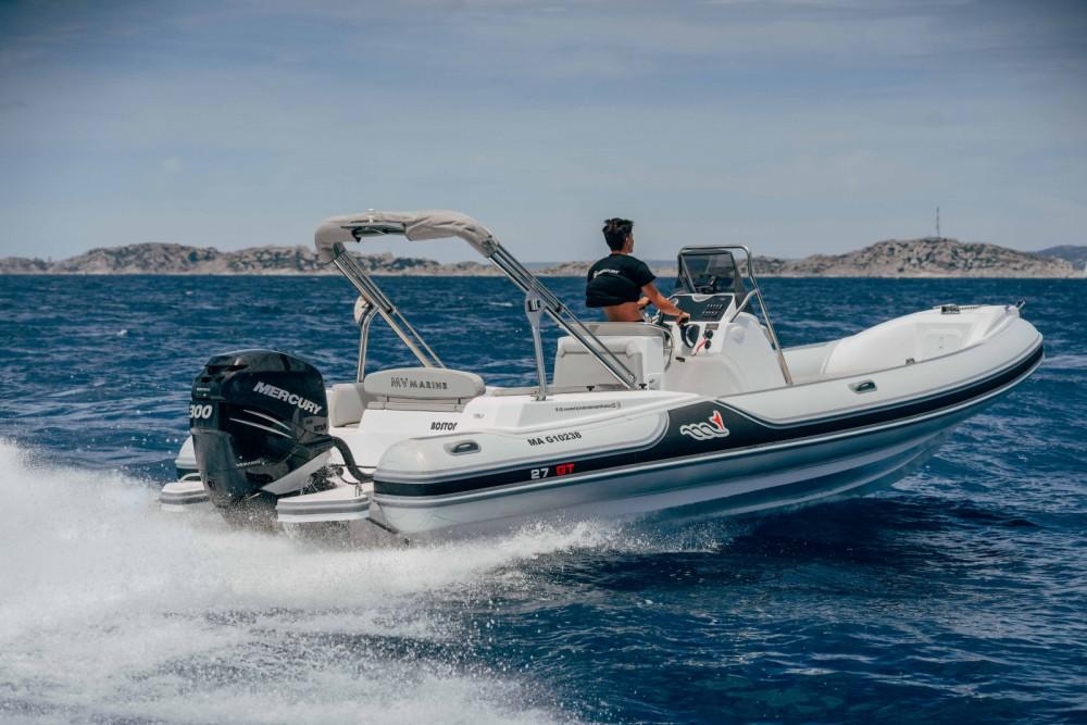MV Marine GT 27 entre particuliers et professionnel à Marseille