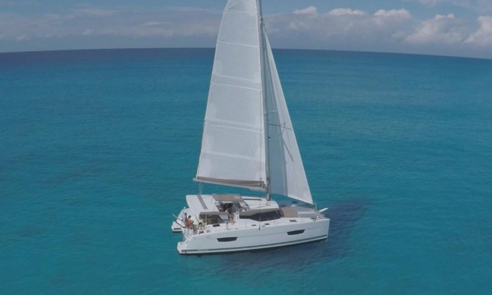 Location bateau Fountaine Pajot Lucia 40 à Martinique sur Samboat