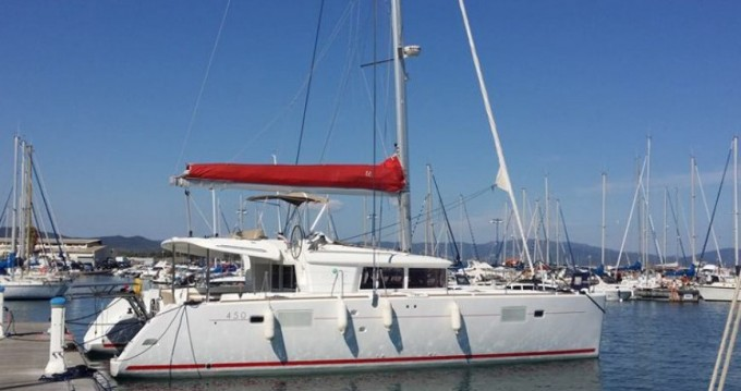 Location yacht à Benítses - Lagoon Lagoon 450 F sur SamBoat