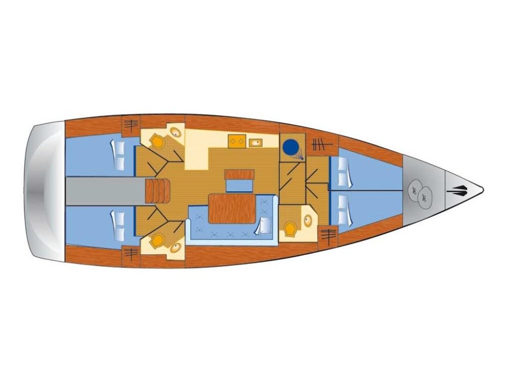 Location Voilier à Rogoznica - Bavaria Bavaria Cruiser 46