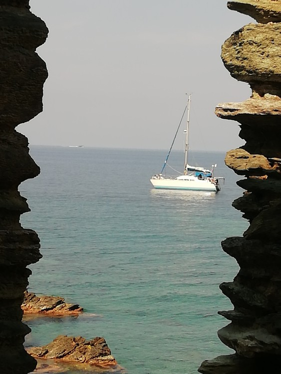 Sail craft Comanche entre particuliers et professionnel à Ajaccio