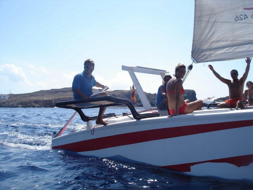 Louer Catamaran avec ou sans skipper Kelt à Es Mercadal