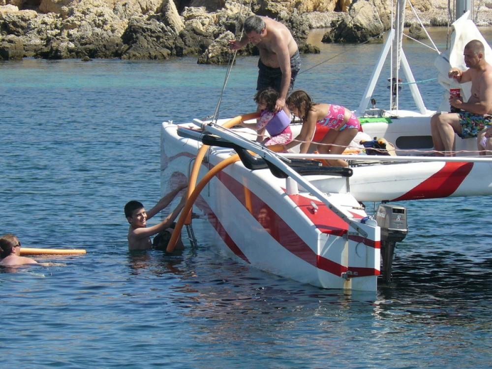 Location Catamaran à Es Mercadal - Kelt Dys,   Rush 10