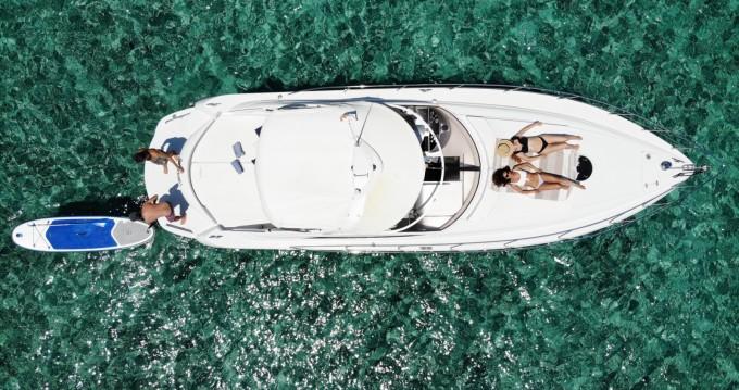 Location bateau Pershing Pershing 37 à Ibiza (Ville) sur Samboat