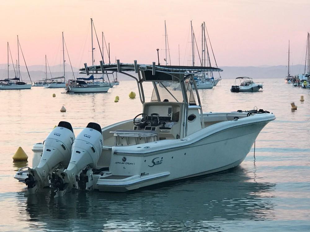 Location bateau Scout Sportfish à Hyères sur Samboat