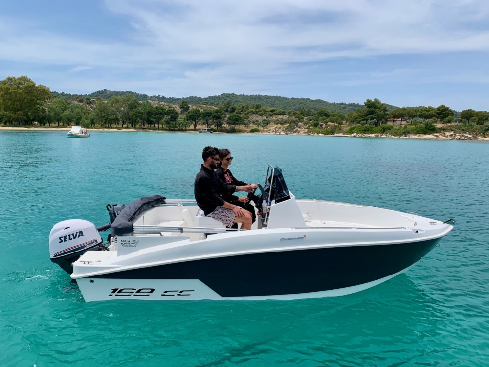 Location bateau compass 168cc à Ormos Panagias sur Samboat