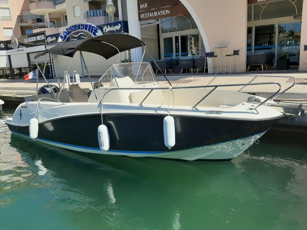 Location bateau Quicksilver Activ 675 Open à Fréjus sur Samboat