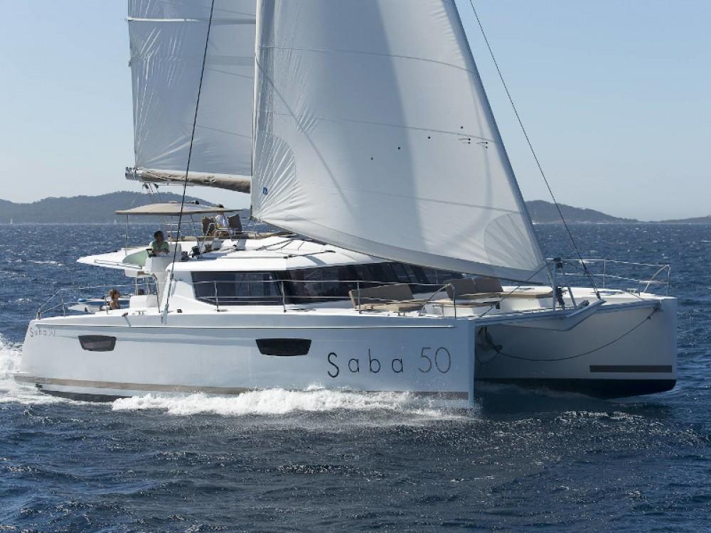 Location yacht à Capo d'Orlando - Fountaine Pajot Saba 50 sur SamBoat