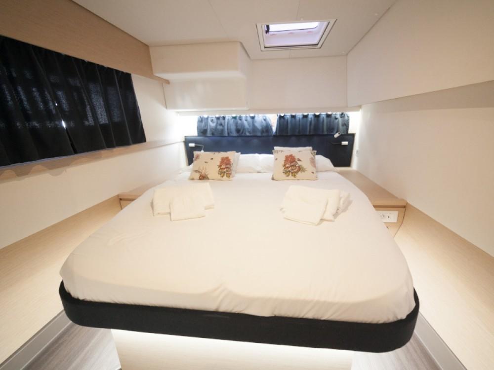 Location Catamaran à Capo d'Orlando - Fountaine Pajot Saba 50