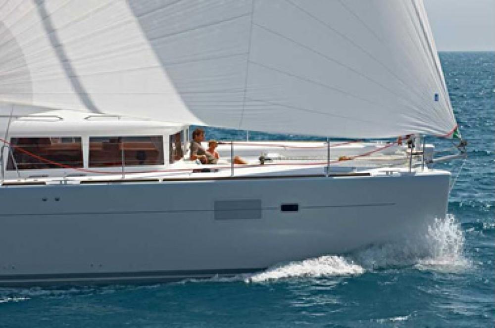 Location bateau US Virgin Islands pas cher Lagoon 450