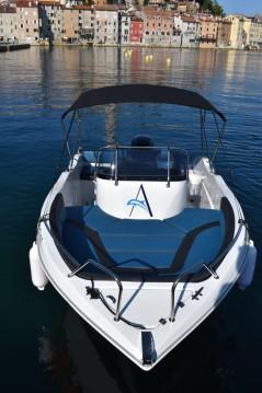 Location bateau Okiboats Barracuda 545 Open à Rovinj sur Samboat