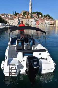Location Bateau à moteur à Rovinj - Okiboats Barracuda 545 Open