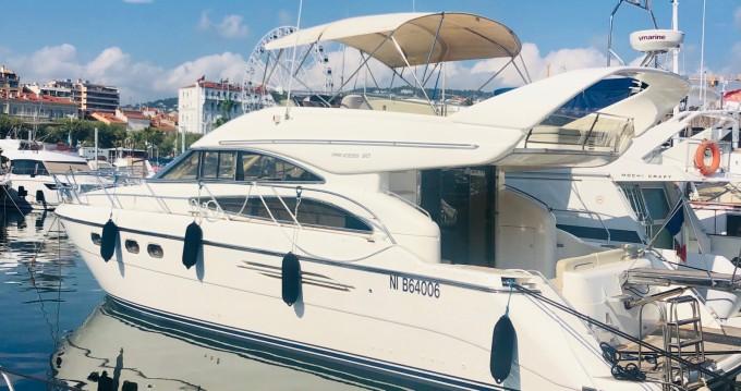 Location bateau Cannes pas cher Princess 50 Fly