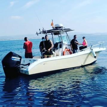 Louez un Fishing Raptor 240 à Coma-ruga