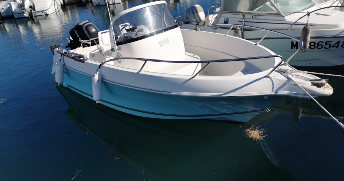 Location yacht à Fos-sur-Mer - Quicksilver Quicksilver 550 Commander sur SamBoat