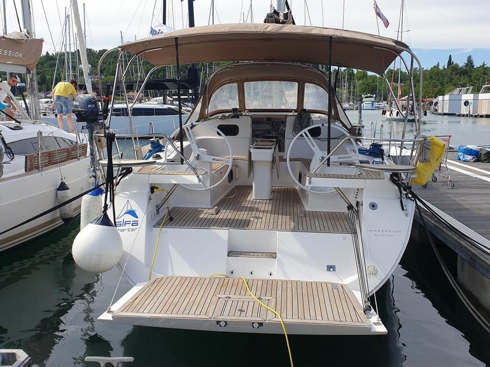 Location bateau Slovénie pas cher Elan Impression 45