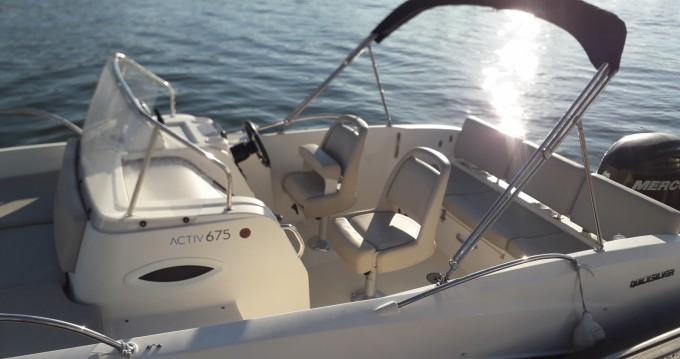 Louer Bateau à moteur avec ou sans skipper Quicksilver à Arcachon