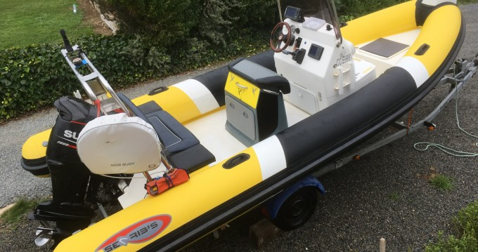 Louez un Searib's 580 open à Moëlan-sur-Mer