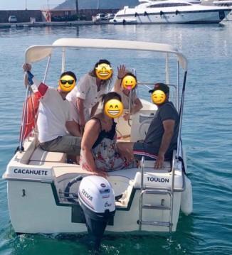 Louer Bateau à moteur avec ou sans skipper Selva à Mandelieu-la-Napoule